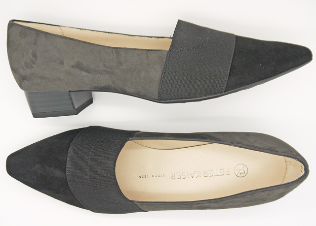 Lagos Black and Grey Suede