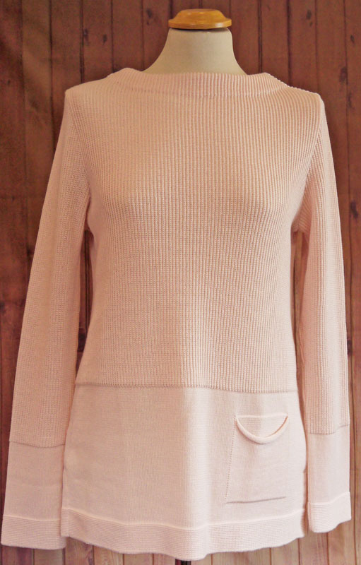 Pale Pink Round Neck Jumper
